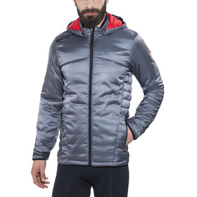 Castelli Meccanico Puffy Jacket Men turbulence/red